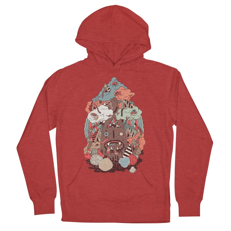 Of the forest Women's Pullover Hoody by uberkraaft's Artist Shop
