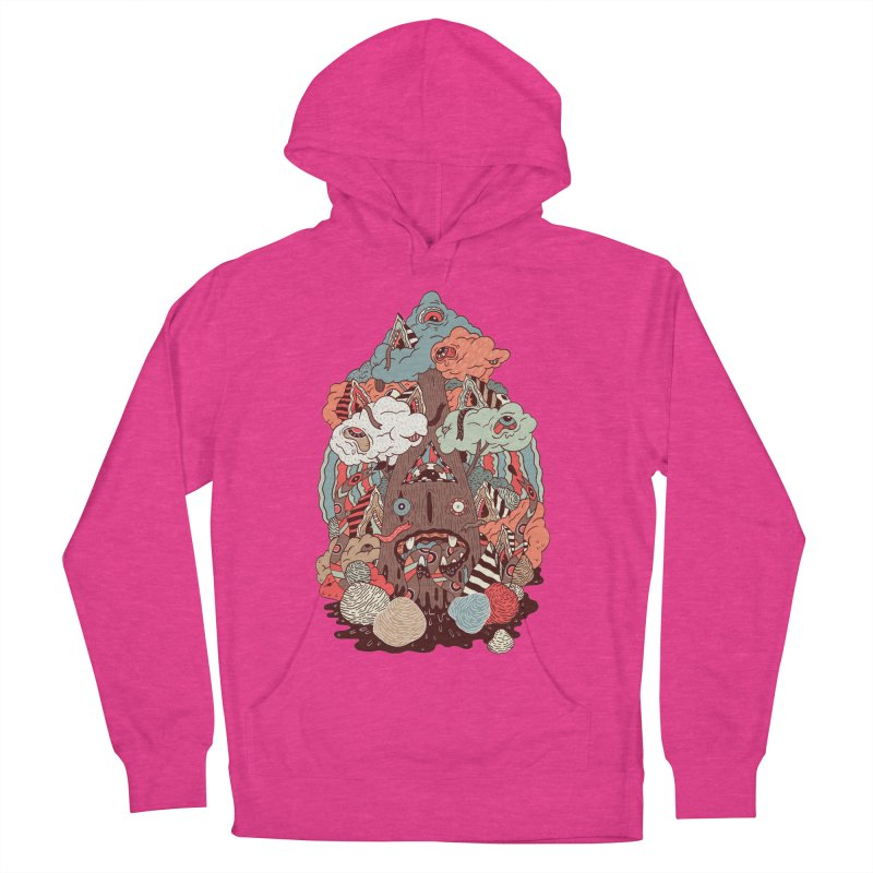 Of the forest Women's Pullover Hoody by uberkraaft's Artist Shop