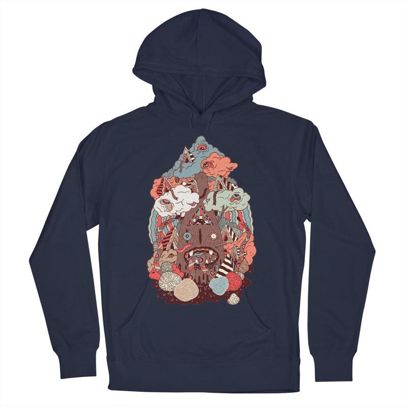 Of the forest Men's Pullover Hoody by uberkraaft's Artist Shop
