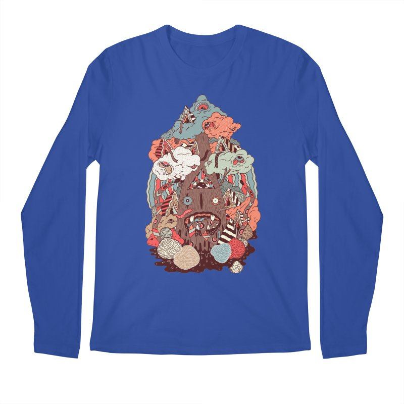 Of the forest Men's Longsleeve T-Shirt by uberkraaft's Artist Shop