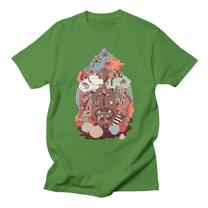 Of the forest Men's T-shirt by uberkraaft's Artist Shop