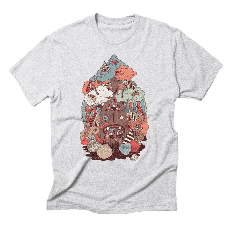 Of the forest Men's Triblend T-shirt by uberkraaft's Artist Shop