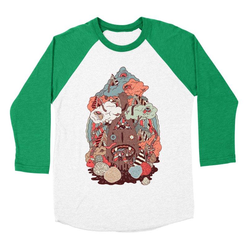 Of the forest Men's Baseball Triblend T-Shirt by uberkraaft's Artist Shop