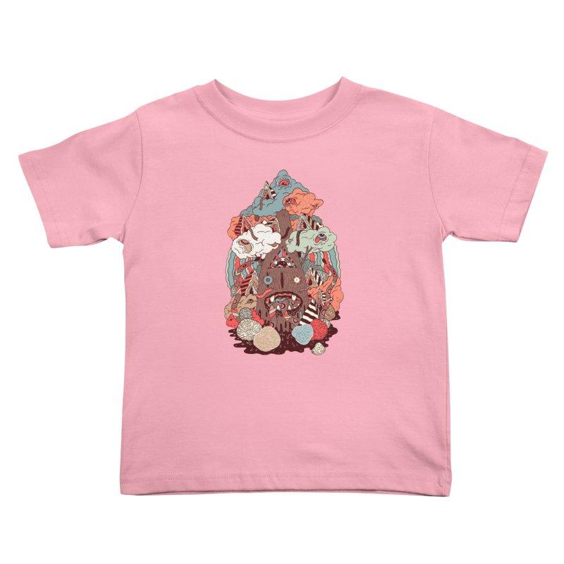 Of the forest Kids Toddler T-Shirt by uberkraaft's Artist Shop