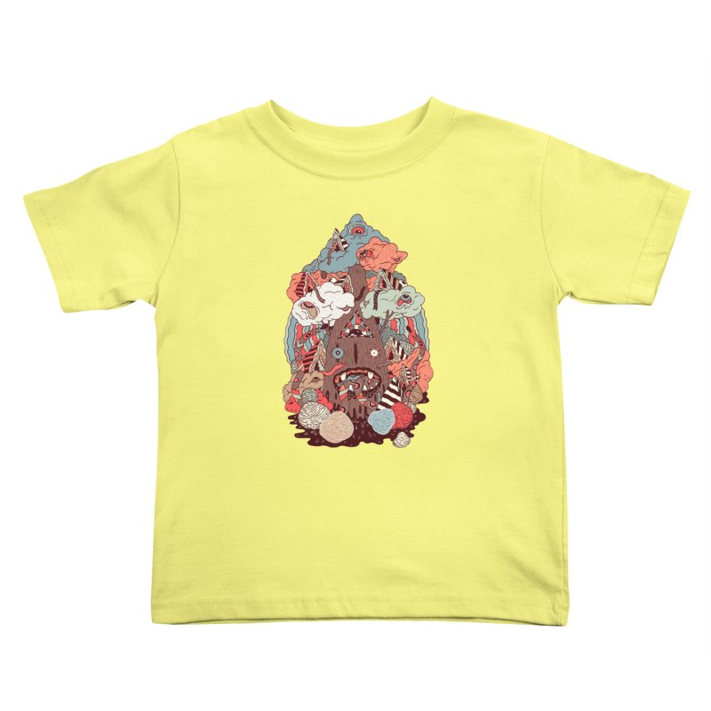 Of the forest Kids Toddler T-Shirt by uberkraaft's Artist Shop