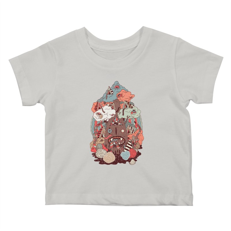 Of the forest Kids Baby T-Shirt by uberkraaft's Artist Shop