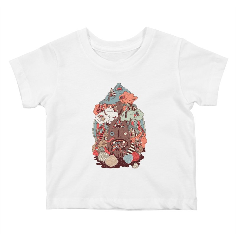 Of the forest Kids Baby T-Shirt by uberkraaft's Artist Shop