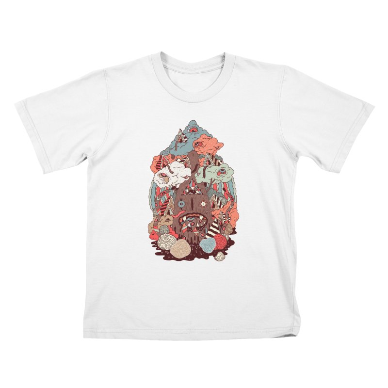 Of the forest Kids T-Shirt by uberkraaft's Artist Shop