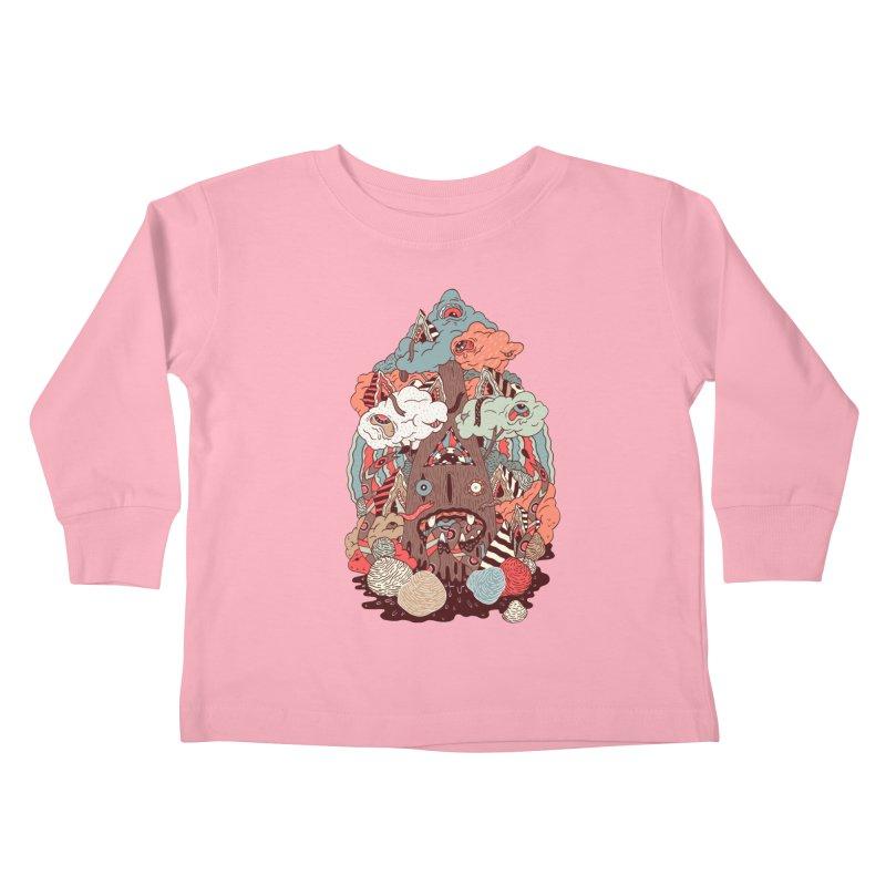 Of the forest Kids Toddler Longsleeve T-Shirt by uberkraaft's Artist Shop