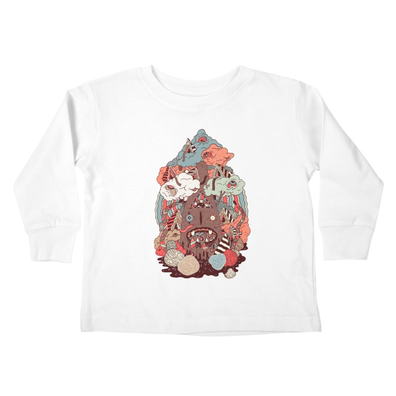 Of the forest Kids Toddler Longsleeve T-Shirt by uberkraaft's Artist Shop