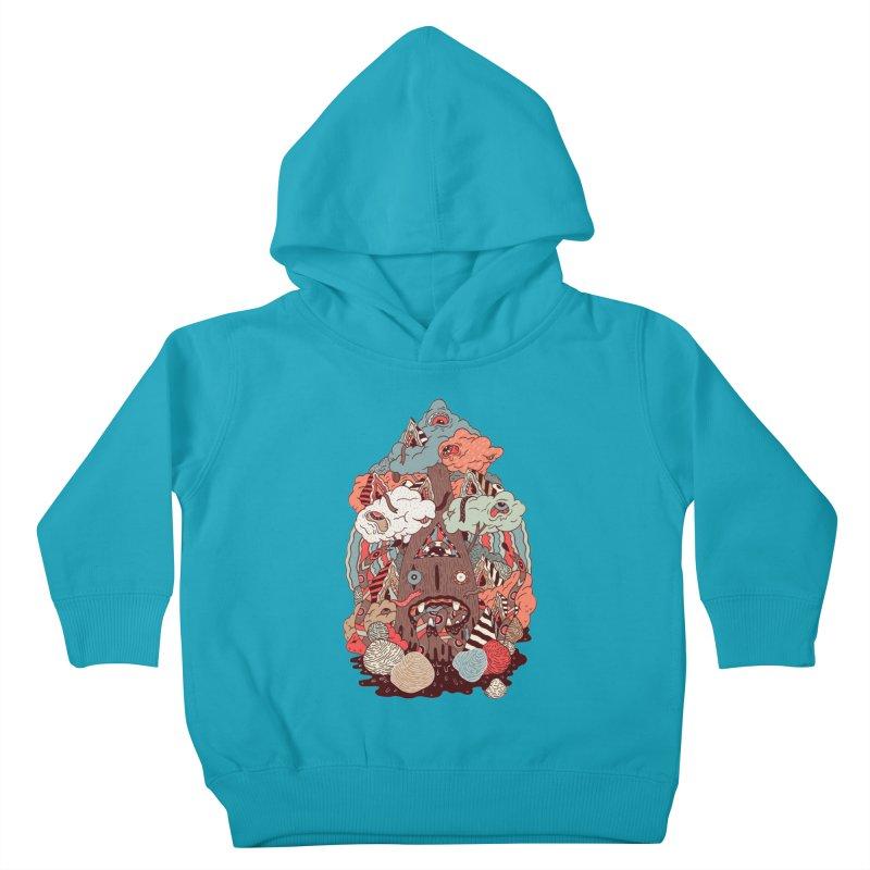 Of the forest Kids Toddler Pullover Hoody by uberkraaft's Artist Shop