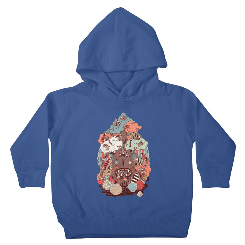 Of the forest Kids Toddler Pullover Hoody by uberkraaft's Artist Shop