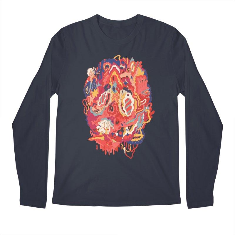 Head #32 Men's Longsleeve T-Shirt by uberkraaft's Artist Shop