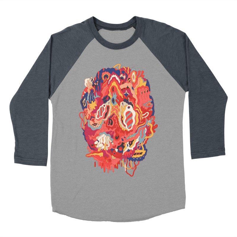 Head #32 Women's Baseball Triblend T-Shirt by uberkraaft's Artist Shop