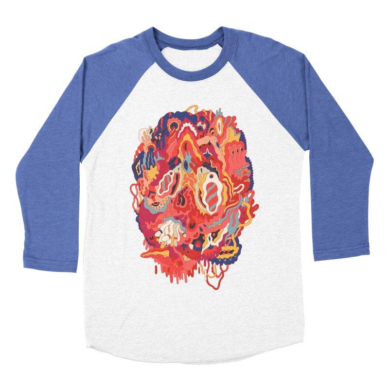 Head #32 Men's Baseball Triblend T-Shirt by uberkraaft's Artist Shop
