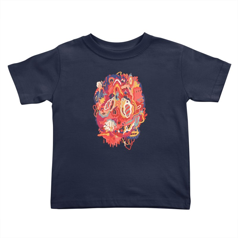 Head #32 Kids Toddler T-Shirt by uberkraaft's Artist Shop