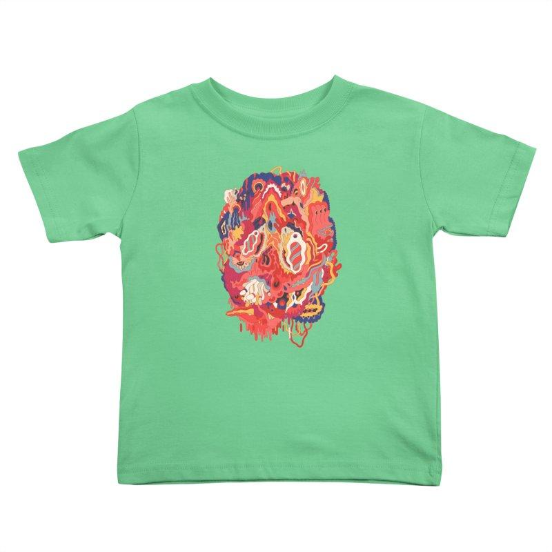 Head #32 Kids Toddler T-Shirt by uberkraaft's Artist Shop