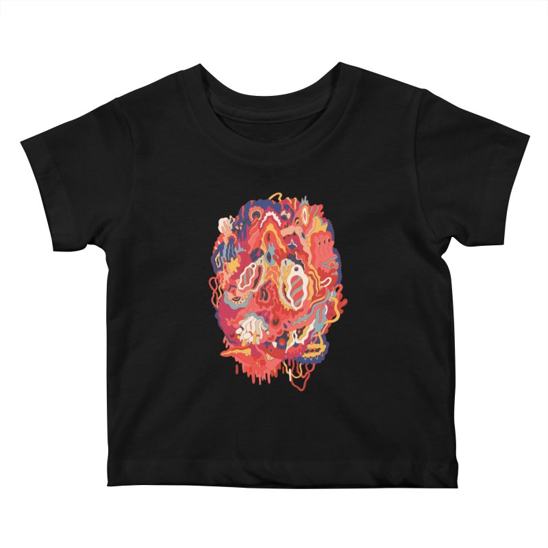 Head #32 Kids Baby T-Shirt by uberkraaft's Artist Shop
