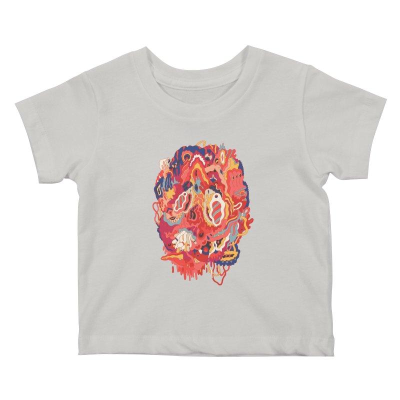 Head #32 Kids Baby T-Shirt by uberkraaft's Artist Shop