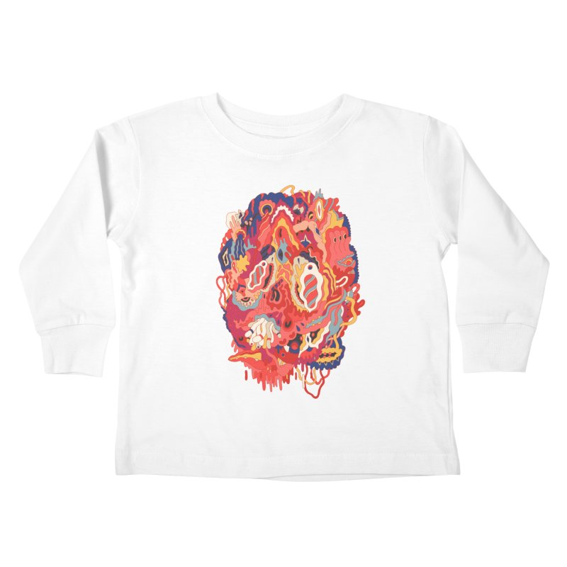Head #32 Kids Toddler Longsleeve T-Shirt by uberkraaft's Artist Shop