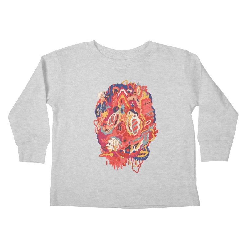 Head #32 Kids Toddler Longsleeve T-Shirt by uberkraaft's Artist Shop