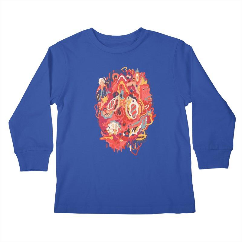 Head #32 Kids Longsleeve T-Shirt by uberkraaft's Artist Shop