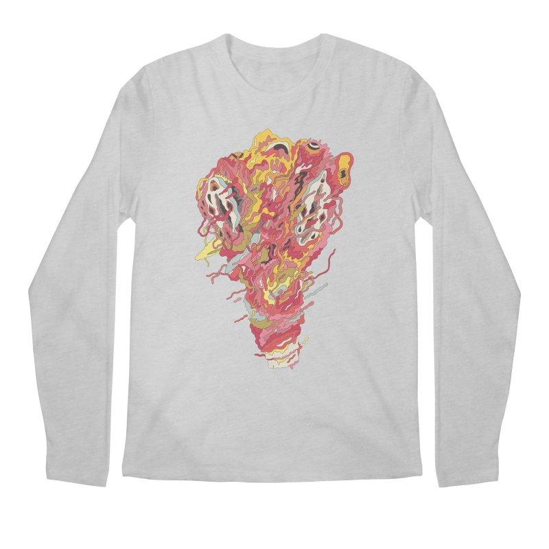 Melt! Men's Longsleeve T-Shirt by uberkraaft's Artist Shop
