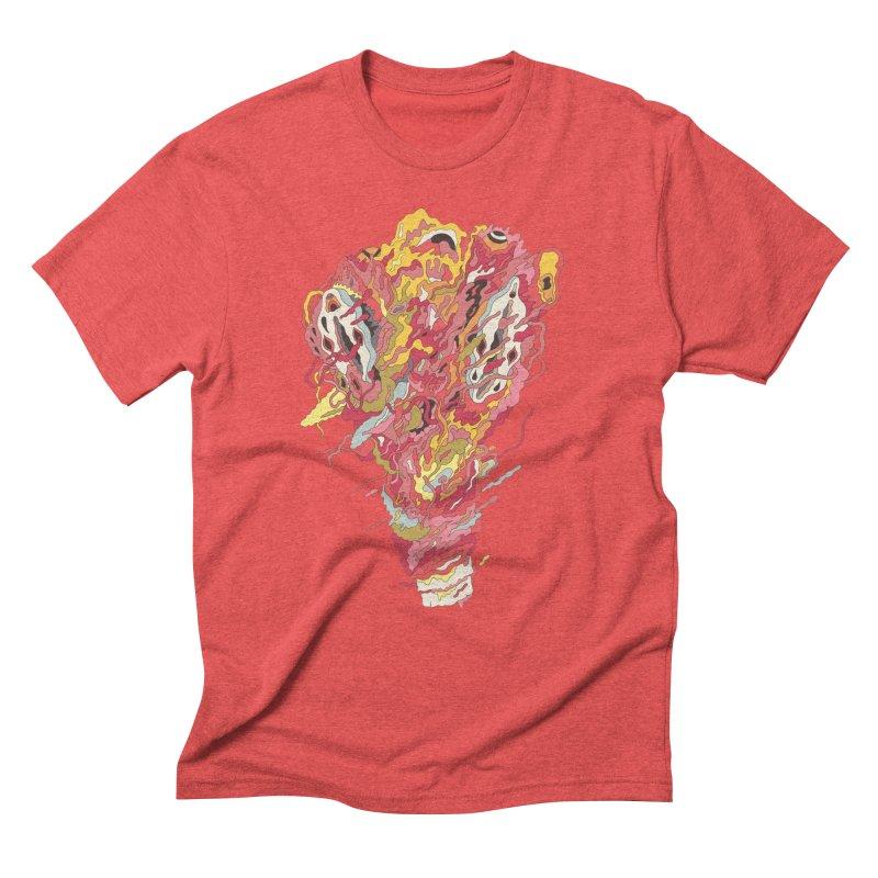Melt! in Men's Triblend T-Shirt Chili Red by uberkraaft's Artist Shop