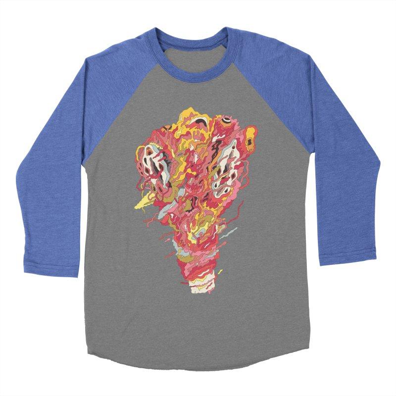 Melt! Women's Baseball Triblend T-Shirt by uberkraaft's Artist Shop