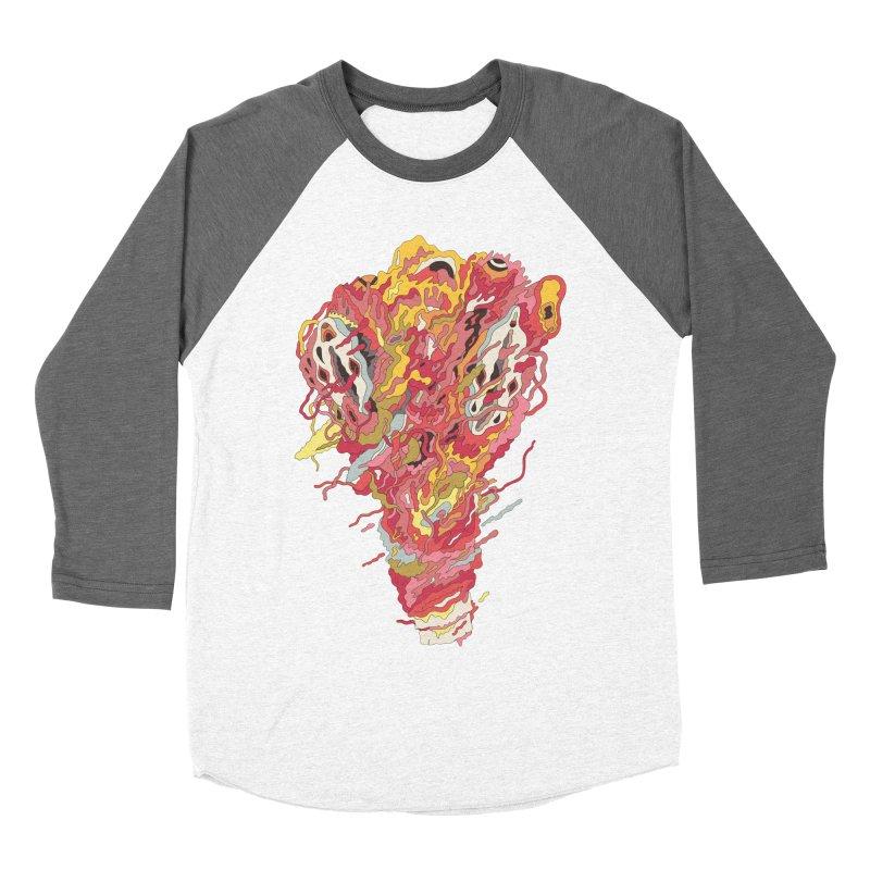 Melt! Men's Baseball Triblend T-Shirt by uberkraaft's Artist Shop