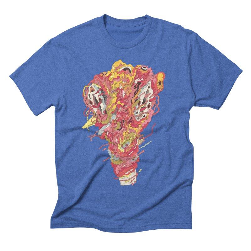 Melt! Men's Triblend T-shirt by uberkraaft's Artist Shop