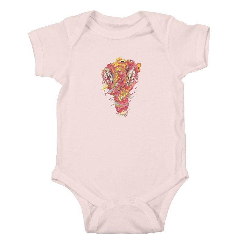 Melt! Kids Baby Bodysuit by uberkraaft's Artist Shop