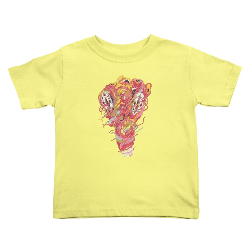 Melt! Kids Toddler T-Shirt by uberkraaft's Artist Shop