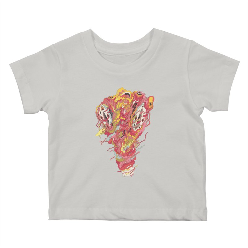 Melt! Kids Baby T-Shirt by uberkraaft's Artist Shop