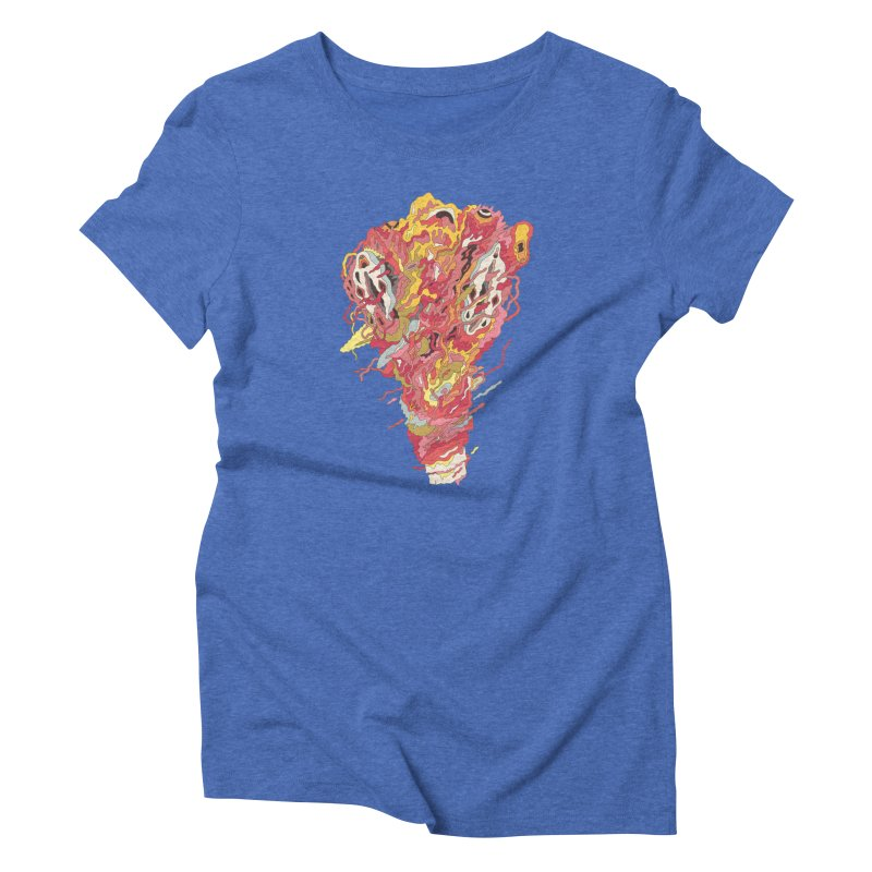 Melt! Women's Triblend T-shirt by uberkraaft's Artist Shop