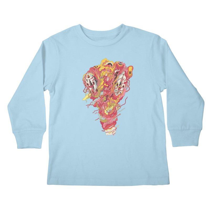 Melt! Kids Longsleeve T-Shirt by uberkraaft's Artist Shop