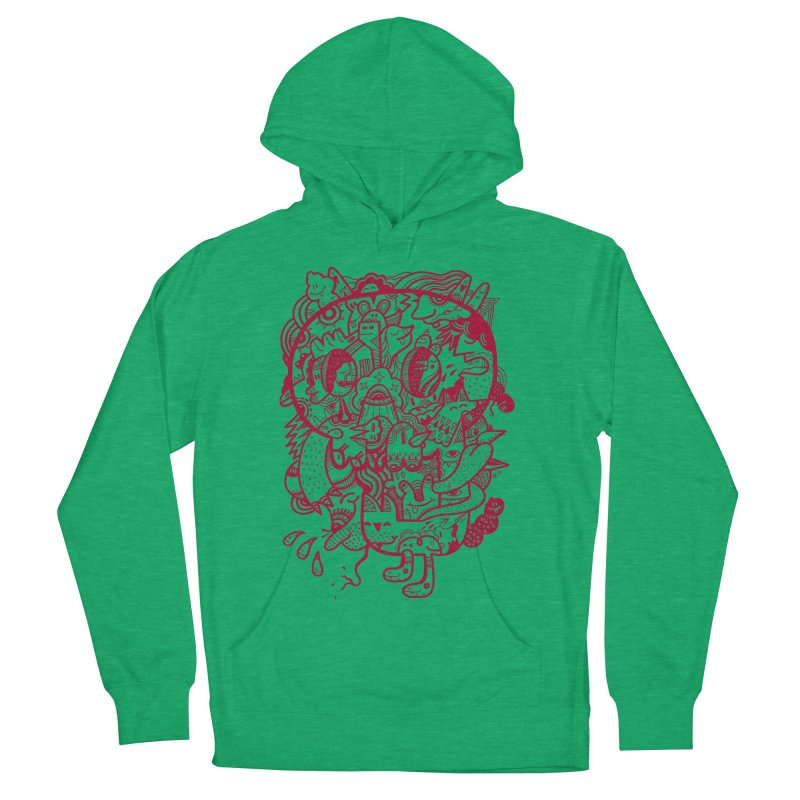 Skull Ochre Women's Pullover Hoody by uberkraaft's Artist Shop