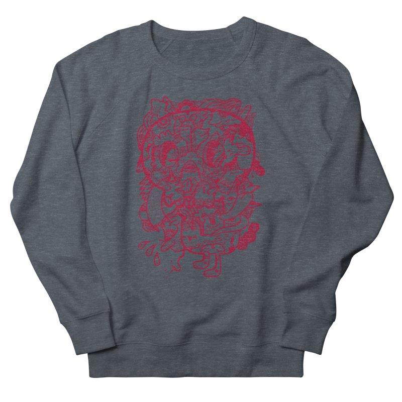 Skull Ochre Men's Sweatshirt by uberkraaft's Artist Shop