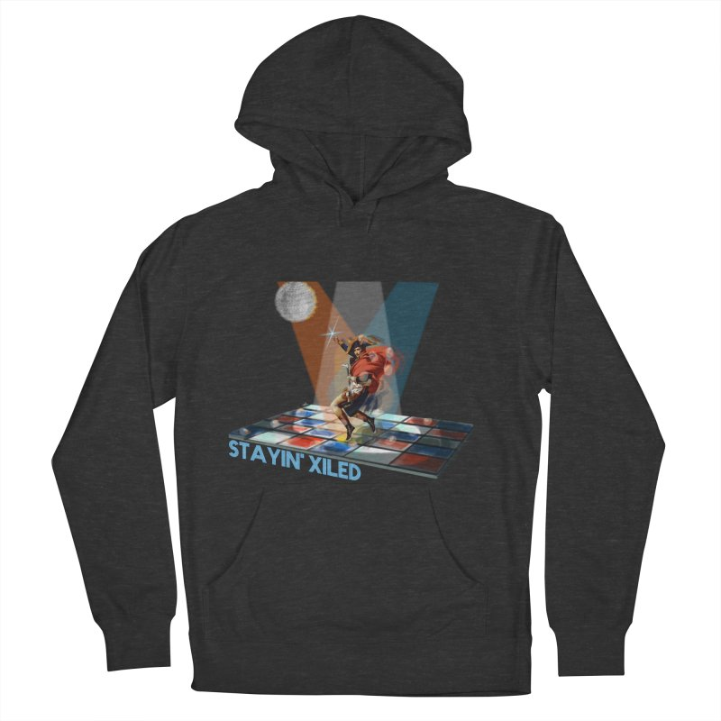 Staying Xiled Men's Pullover Hoody by U-Bot Shop