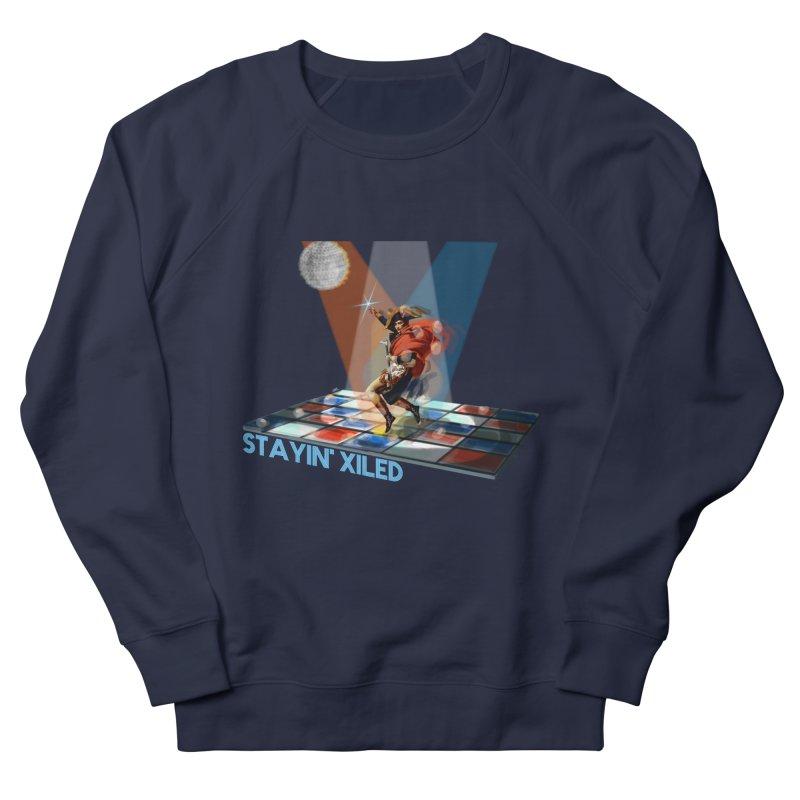 Staying Xiled Men's Sweatshirt by U-Bot Shop