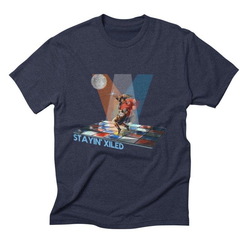 Staying Xiled Men's Triblend T-Shirt by U-Bot Shop
