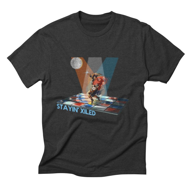 Staying Xiled Men's Triblend T-shirt by U-Bot Shop
