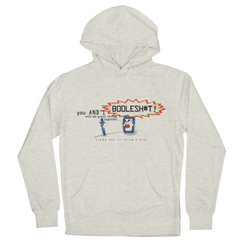 BooleS**T! Men's Pullover Hoody by U-Bot Shop
