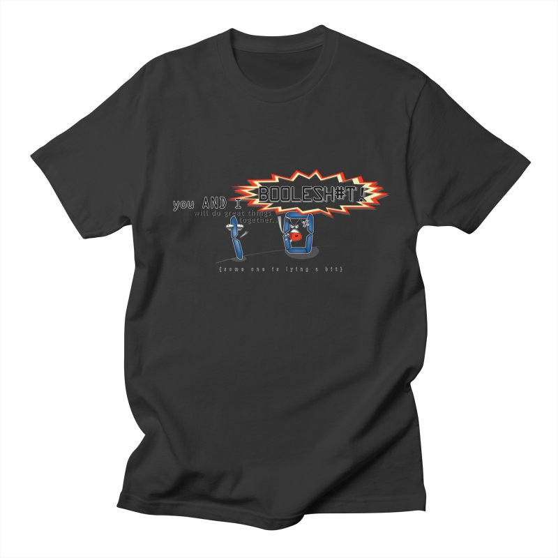 BooleS**T! Men's T-Shirt by U-Bot Shop