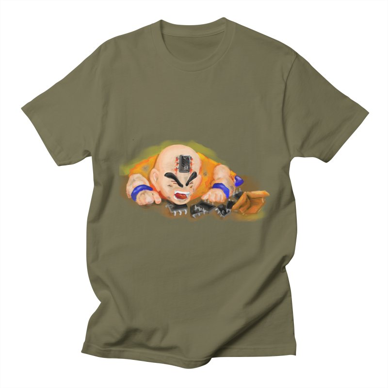 Making of Krillin Men's T-Shirt by U-Bot Shop