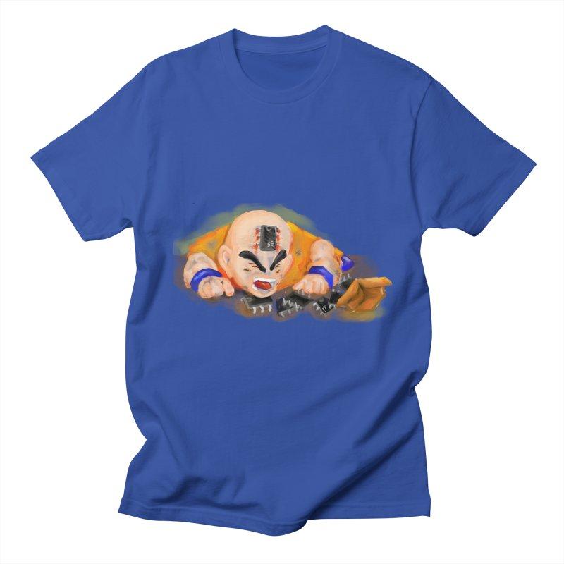 Making of Krillin Men's T-Shirt by U-Bot Shop