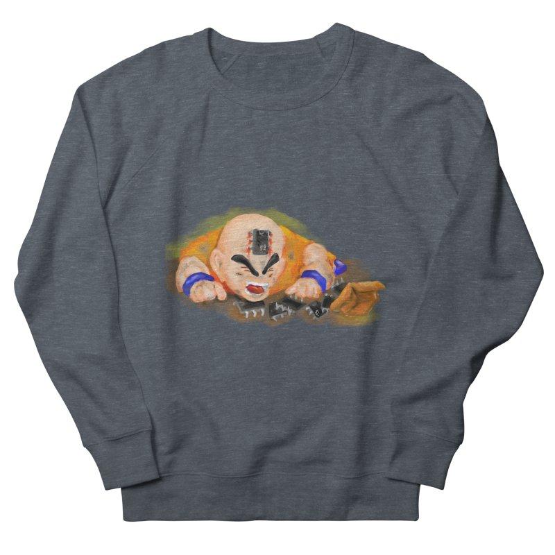 Making of Krillin Women's Sweatshirt by U-Bot Shop