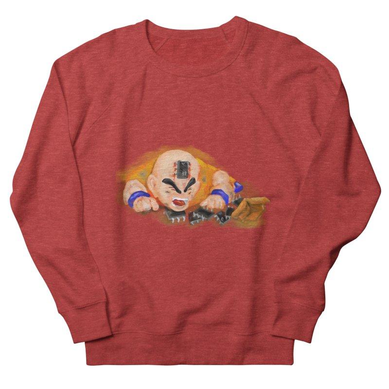 Making of Krillin Men's Sweatshirt by U-Bot Shop