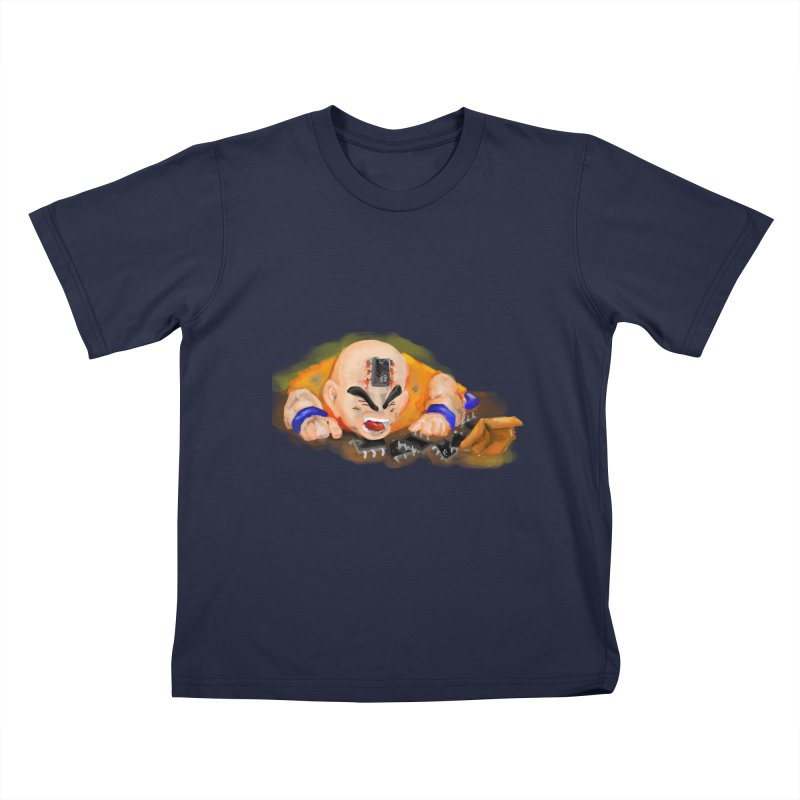 Making of Krillin Kids T-shirt by U-Bot Shop