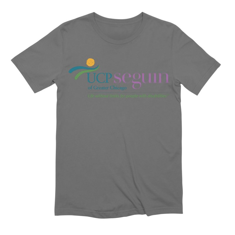 Apparel w/ Color Logo - Full Chest Men's T-Shirt by UCP Seguin Swag Shop